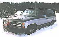 The K-Blazer with siped BFGs.